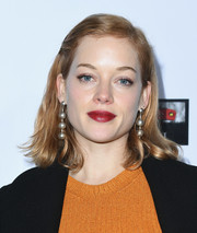 Jane Levy sported a casual mid-length bob at the Oscar Wilde Awards.