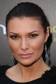 Julia Kurbatova wore dazzling diamond earrings to the Young Hollywood Awards.