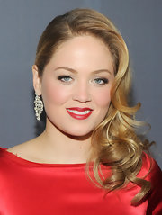 Erika Christensen wore her long locks in sleek retro-inspired curls at the 14th Annual Costume Designers Guild Awards.