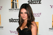 Actress Mila Kunis attends the 14th annual Hollywood Awards Gala at The Beverly Hilton Hotel on October 25, 2010 in Beverly Hills, California.