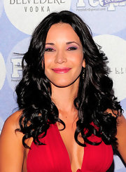 Adriana Campos was all smiles on the red carpet at the 50 Most Beautiful event.