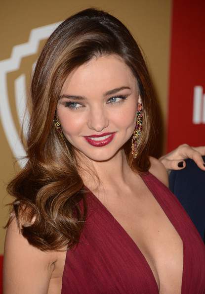 More Pics of Miranda Kerr Evening Dress (4 of 23) - Miranda Kerr Lookbook - StyleBistro