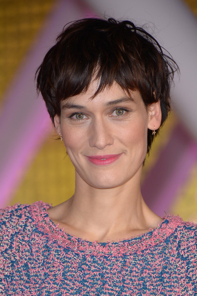 Clotilde Hesme wore her hair in a messy bowl cut at the 2014 Marrakech International Film Festival Tribute to Jeremy Irons.