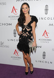 Georgina Chapman glowed in one of her intricate designs on the ACE Awards red carpet.