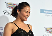 Paula Patton kept it casual with this ponytail at the Chrysalis Butterfly Ball.