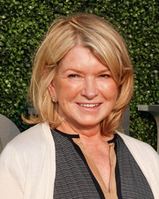 Martha Stewart framed her face with a classic bob for the 2015 USTA opening night gala.
