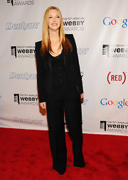 Lisa Kudrow opted for a black tux instead of a gown when she attended the Webby Awards.