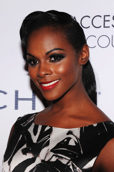 More Pics of Tika Sumpter Red Lipstick (1 of 17) - Tika Sumpter Lookbook - StyleBistro