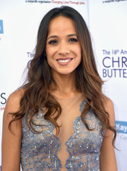 Dania Ramirez wore her hair down in a cascade of waves at the Chrysalis Butterfly Ball.