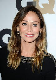 Natalie Imbruglia styled her hair in subtle waves for the GQ Men of the Year party.