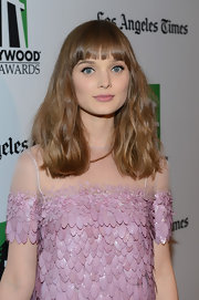 Bella Heathcote wore her soft waves down at the 16th Annual Hollywood Film Awards.