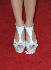 At the SAG Awards in 2010 Marion Cotillard wore these platform heels, which were straight from the runway along with her cocktail dress.