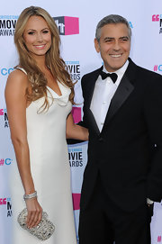 Stacy Keibler wore a stack of diamond bangles at the 17th Annual Critics' Choice Movie Awards.