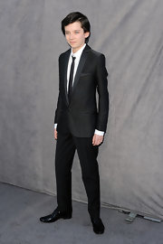 Asa was every bit the gentleman in his sleek black suit.