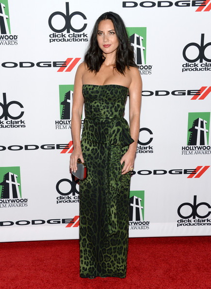 In Dolce & Gabbana At The 2013 Hollywood Film Awards