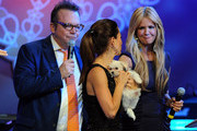 Nancy O'Dell and Tom Arnold Photo