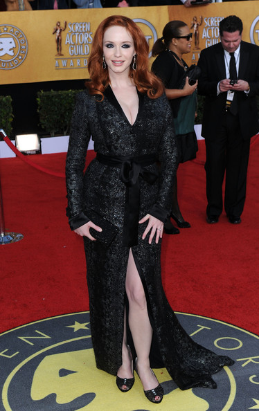 Christina Hendricks at the 2011 SAG Awards