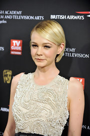 Carey Mulligan showed off her sleek 'do while hitting the BAFTA Awards in Los Angeles. You can always count on this starlet for a knockout look.