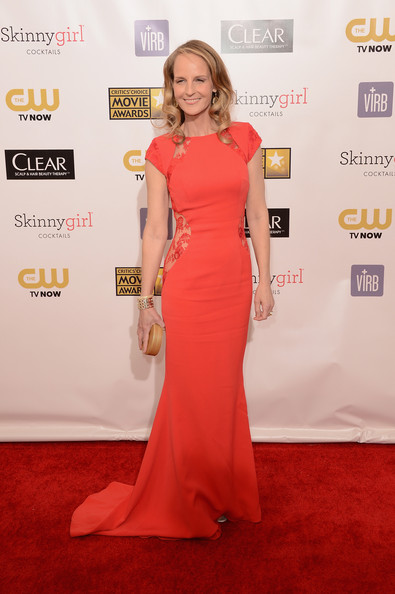 Helen Hunt at the 2013 Critics' Choice Awards