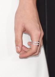 Kristen Stewart showed off a beautiful diamond ring by Dionea Orcini at the 2014 Hollywood Film Awards.