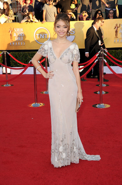Sarah Hyland at the 2012 SAG Awards