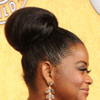 Octavia Spencer  Voluminous Bun