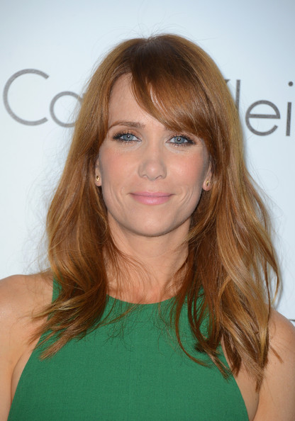 Kristen Wiig's Understated Red