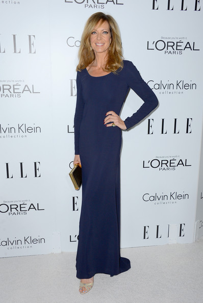 More Pics of Allison Janney Evening Dress (1 of 4) - Allison Janney Lookbook - StyleBistro