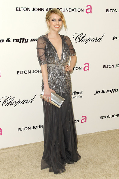 Emma+Roberts in 19th Annual Elton John AIDS Foundation's Oscar Viewing Party - Arrivals