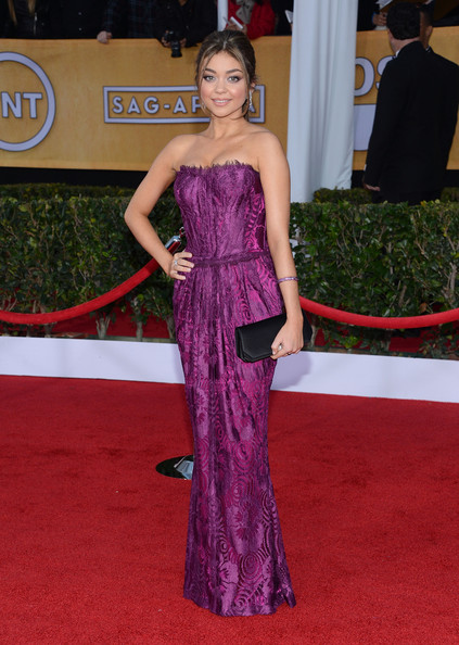 More Pics of Sarah Hyland Corset Dress (1 of 10) - Sarah Hyland Lookbook - StyleBistro