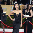 Naya Rivera Wore Donna Karan Atelier at the 2013 SAG Awards