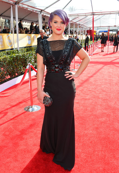 Kelly Osbourne Wore Jenny Packham at the 2013 SAG Awards