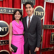 Freida Pinto Wore a Hot Pink Roland Mouret Gown at the 2013 SAG Awards