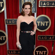 Tina Fey Wore Oscar de la Renta at the 2013 SAG Awards