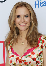 Billowy waves added volume and texture to Kelly Preston's hair at the Children Mending Hearts Style Sunday.