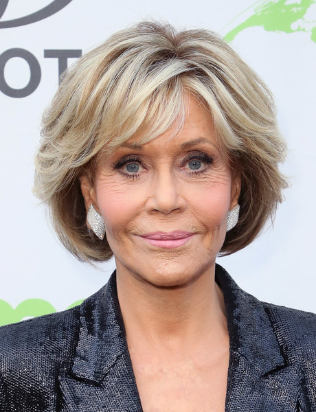 Jane Fonda attended the Environmental Media Association Honors Benefit Gala wearing her usual bob.