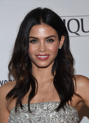 Jenna Dewan-Tatum sported a subtly wavy hairstyle at the Marie Claire Young Women's Honors.