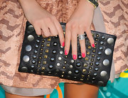 Nikki Reed showed off perfectly manicured fuchsia pink nails at the Teen Choice Awards.