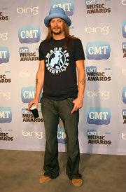 Kid Rock has his buddy Joe's name tattooed on his left forearm.