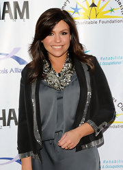 Rachel Ray showed off her star style at a benefit in New York City. Her brunette locks radiated on the red carpet.