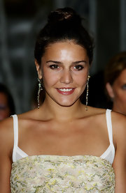 Margherita Missoni wore her hair in a cute top-knot at the 2010 Convivio.