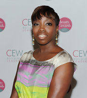 Estelle showed off her short bob while hitting the Women Beauty Awards.