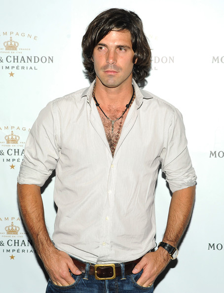 Nacho Figueras looked laid-back yet smart in a gray button-down and jeans at the 2010 Follow the Sun event.