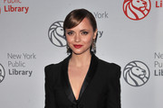 Christina Ricci Rocks a Marchesa Cocktail Dress