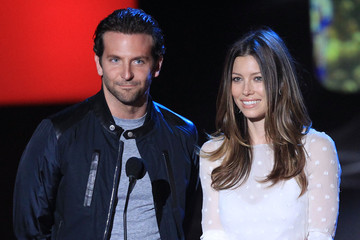 Jessica Biel Bradley Cooper 2010 MTV Movie Awards - Show