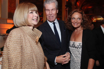 Diane Von Furstenberg Terry Lundgren 2010 NYC & Company Foundation Leadership Awards Gala - Cocktails