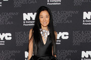 Fashion designer Vera Wang attends 2010 NYC & Company Foundation Leadership Awards Gala - Red Carpet at The Plaza Hotel on December 1, 2010 in New York City.