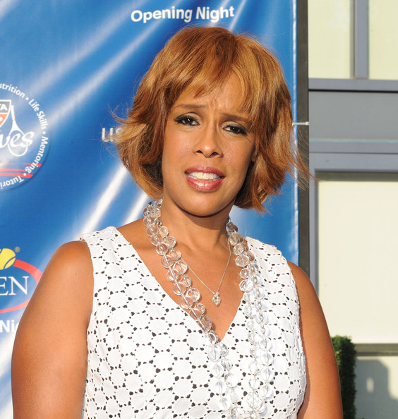 More Pics of Gayle King Bob (1 of 3) - Short Hairstyles Lookbook - StyleBistro [hair,face,hairstyle,blond,chin,lip,human,bob cut,bangs,brown hair,borough,queens,new york city,usta billie jean king national tennis center,2010 us open,opening night ceremony - arrivals,2010 us open opening night ceremony,gayle king]