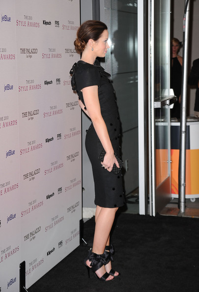 More Pics of Emily Blunt Chignon (7 of 16) - Chignon Lookbook - StyleBistro