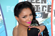 Kat Graham Gets Bedazzled by Fave Designer Jeremy Scott